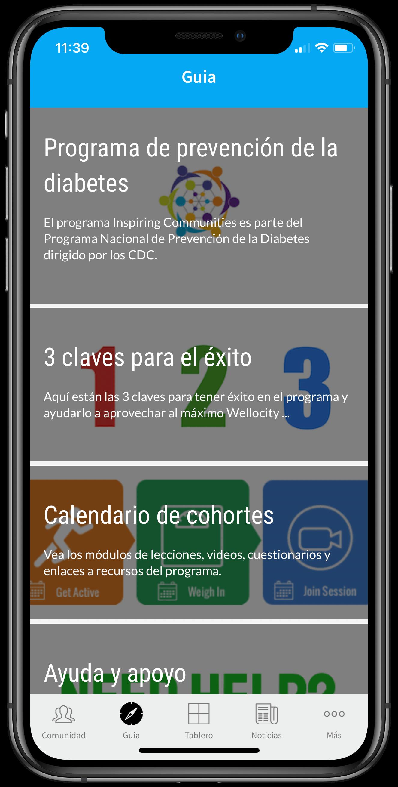 Inspiring Communities Spanish Guidannce framed iPhone XS